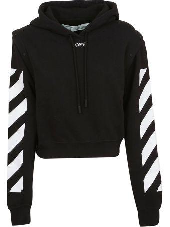 Off-White Diagonal Stripe Hoodie