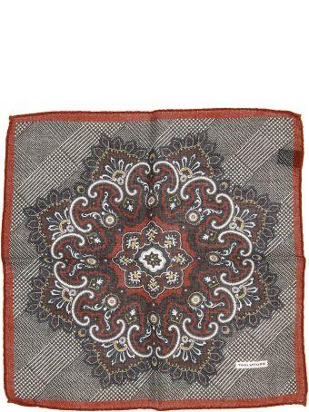 Tagliatore Wool Pocket Square
