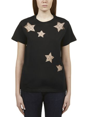 RED Valentino Tulle Star T-shirt