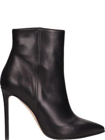 Marc Ellis Black Leather Ankle Boots