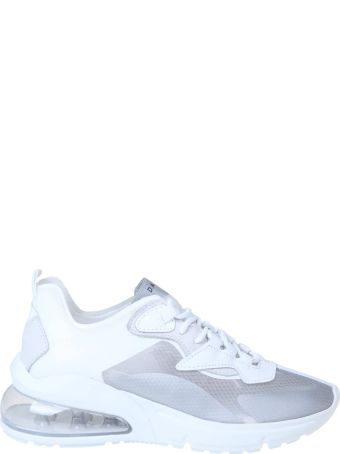 D.A.T.E. Aura Sneakers In Technical Fabric Color White