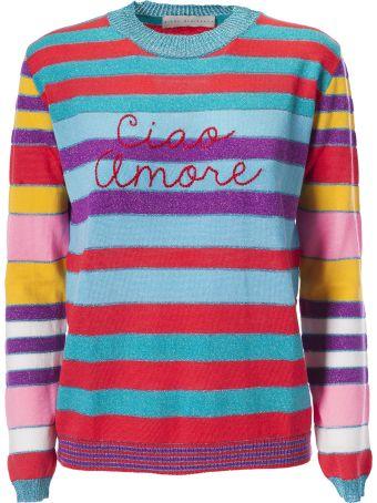 Giada Benincasa Ciao Amore Striped Sweater