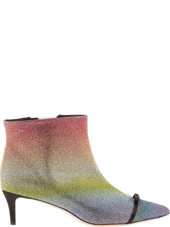 Marco de Vincenzo Boot With Multicolor Rhinestone
