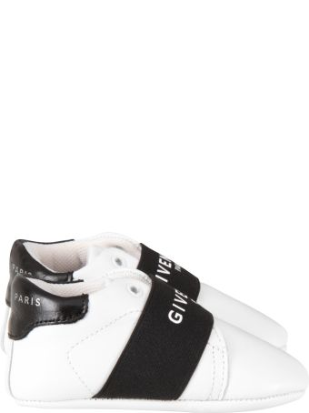 Givenchy White Shoes For Baby Kid