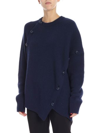 Cedric Charlier Button Embellished Sweater