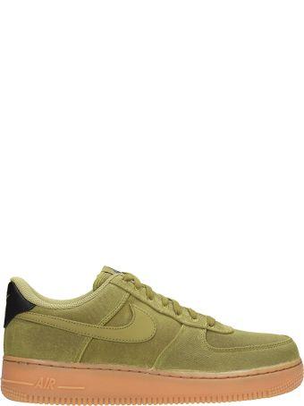 Nike Green Fabric Air Force 1 07 Sneakers
