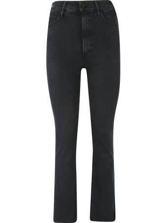 Mother Cropped Flared Jeans