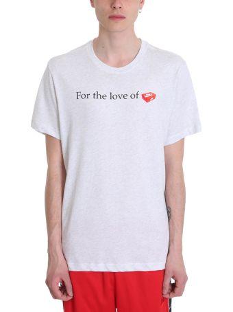 Nike Grey Cotton T-shirt