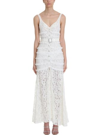 Alessandra Rich Long Lace Dress