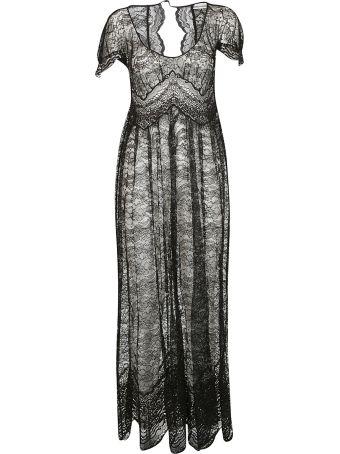 Paco Rabanne Lace Maxi Dress