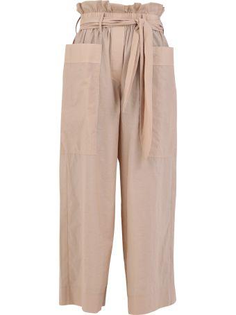 Nanushka Cotton Blend Trousers