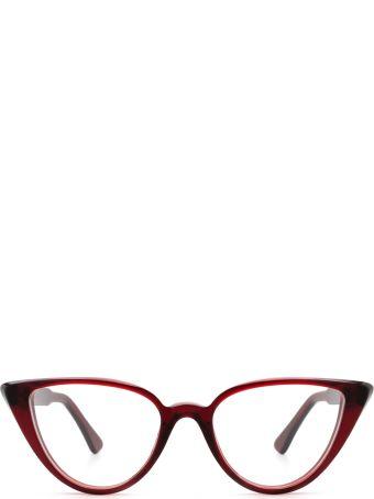 AHLEM Ahlem Rue Berthe Burgundy Glasses