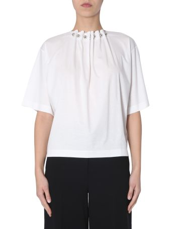 Boutique Moschino T-shirt With Metal Necklace