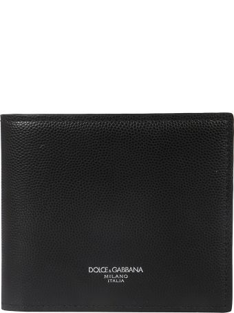 Dolce & Gabbana Classic Logo Print Wallet