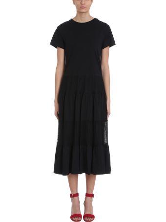 RED Valentino Black Jersey Long Dress