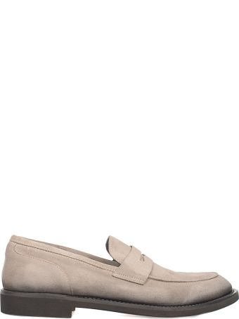 Seboy's Taupe Suede Loafer