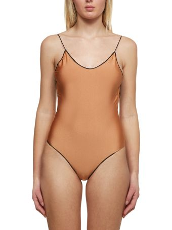 Oseree Lace Insert Swimsuit