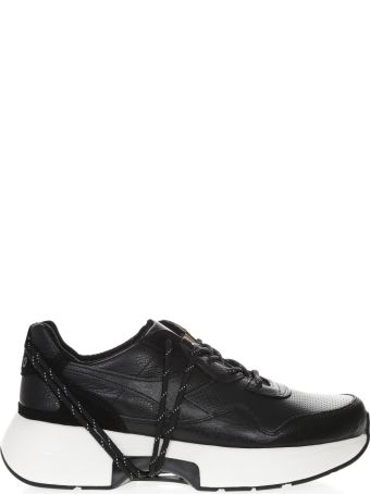 Diadora Heritage Heritage N9000 Txs Black Leather Shoe