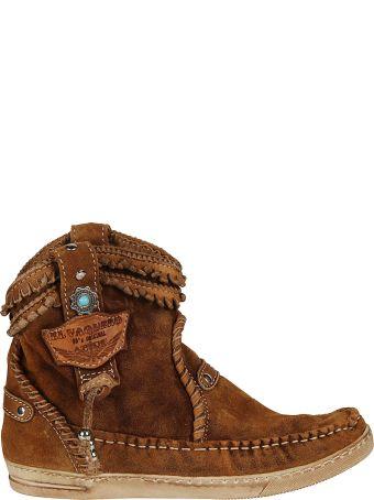 El Vaquero Logo Ankle Boots