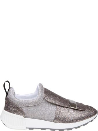 Sergio Rossi Sneakers Sr1 In Glitter Multicolor