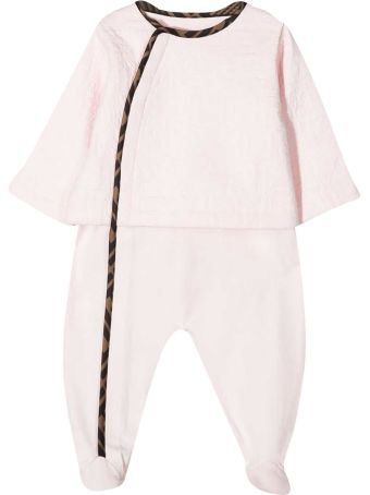 Fendi Three-piece Baby Set