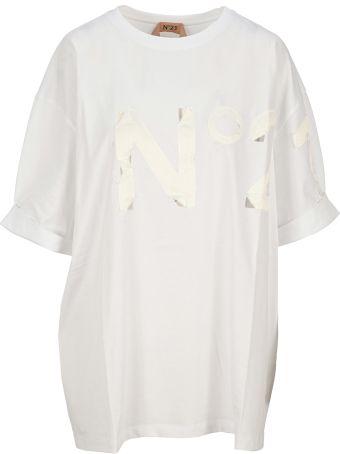 N.21 N21 Logo Patch T-shirt
