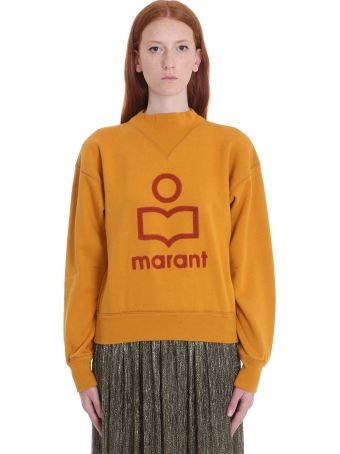 Isabel Marant Étoile Moby Sweatshirt In Yellow Cotton