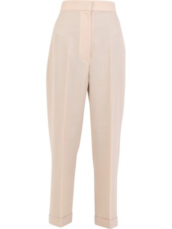 Jacquemus Cotton And Wool Trousers