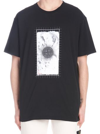 Stone Island 'digital Logo' T-shirt