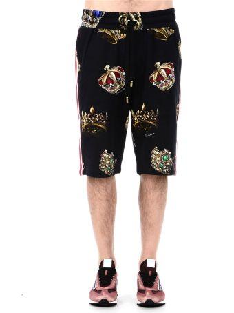 Dolce & Gabbana Sports Shorts With Print