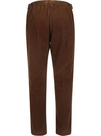Massimo Alba Ribbed Trousers