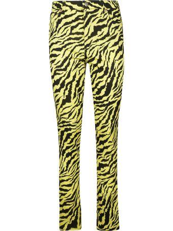 Gucci Zebra Patterned Jeans