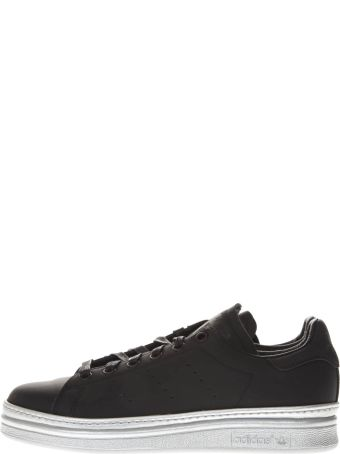 Adidas Originals Stan Smith New Bold Black Leather Sneakers
