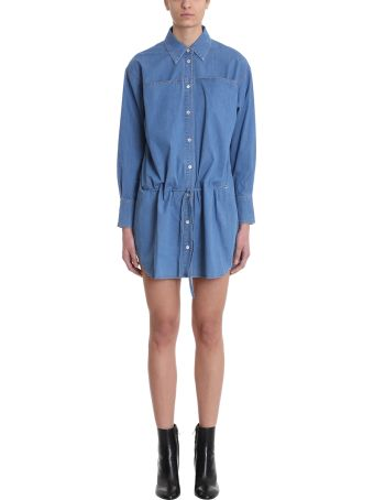 Sonia Rykiel Denim Shirt Dress