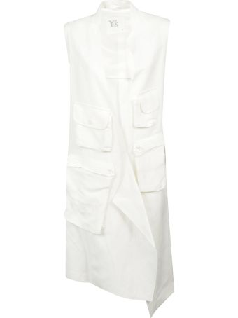 Y's Cargo Pocket Sleeveless Dress