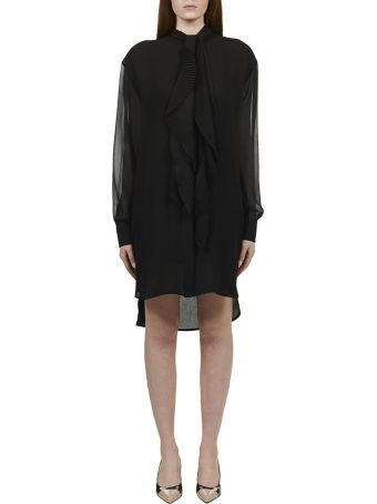 Givenchy Ruffle Detail Shirt Dress