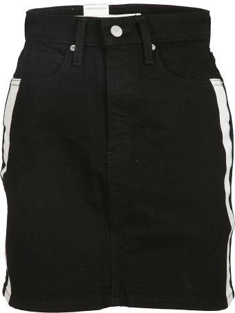 Calvin Klein High Waist Short Skirt
