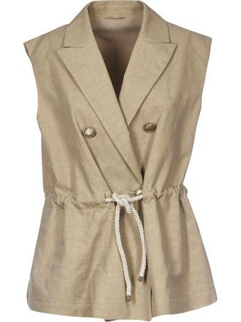Brunello Cucinelli Double Breasted Vest