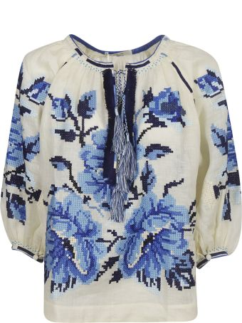 Vita Kin Embroidered Floral Blouse