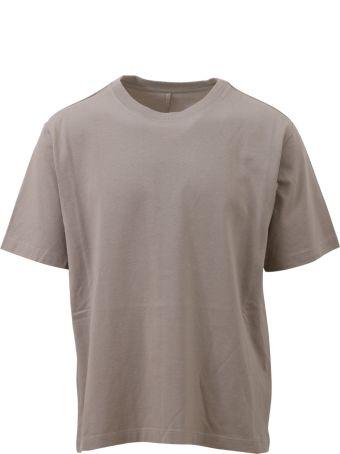 Ben Taverniti Unravel Project Grey Crewneck T-shirt