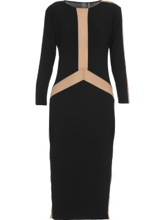Norma Kamali Dress With Sheer Details