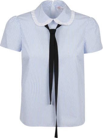 RED Valentino Bow Ribbon Detailed Blouse