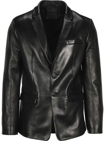 Prada Leather Blazer