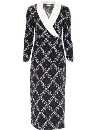 Rixo London Dress With Collar