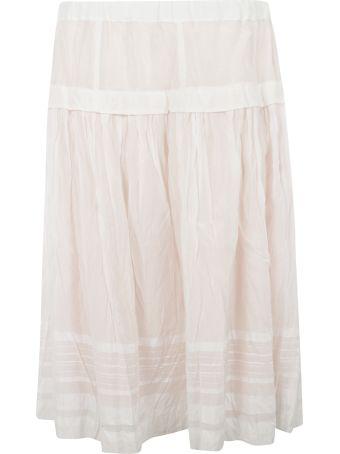 Casey Casey Striped Detail Ruffled Skirt