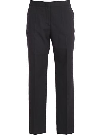 Mantù Mantu Cropped Straight Leg Trousers