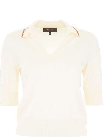 Loro Piana Silk And Cotton Polo Shirt