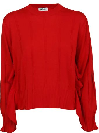 Kenzo Pleated Knit Sweater