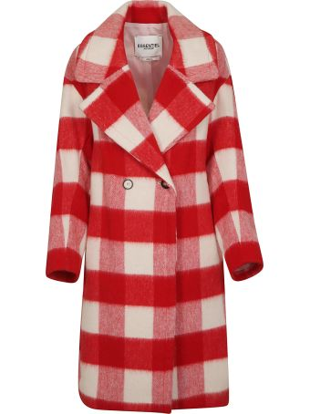 Essentiel Checked Coat