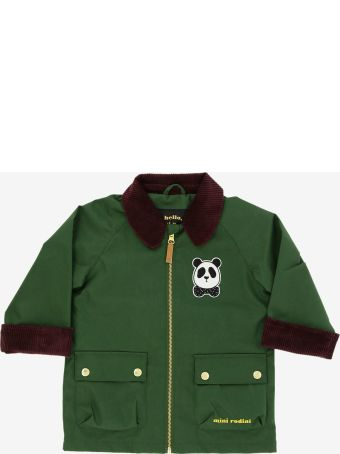 Mini Rodini Short Sloeeves Jacket With Panda Patch